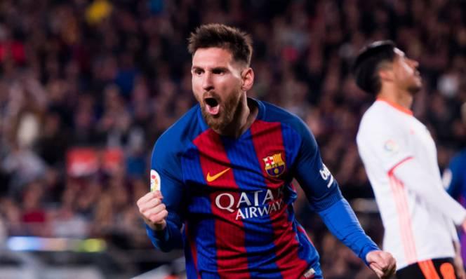 Cuộc đua giày Vàng châu Âu: Messi thống trị
