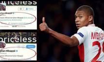 Thêm dấu hiệu chứng tỏ Mbappe sẽ rời Monaco trong hè này!