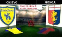 Chievo vs Genoa, 01h00 ngày 06/12: Dập tắt hưng phấn