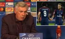 Bayern Munich bị PSG hạ nhục, HLV Ancelotti vẫn nói cứng