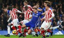Nhận định Chelsea vs Stoke City 22h00, 30/12 (Vòng 21 - Ngoại hạng Anh)