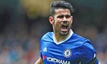 Diego Costa đã tạm biệt các đồng đội tại Chelsea