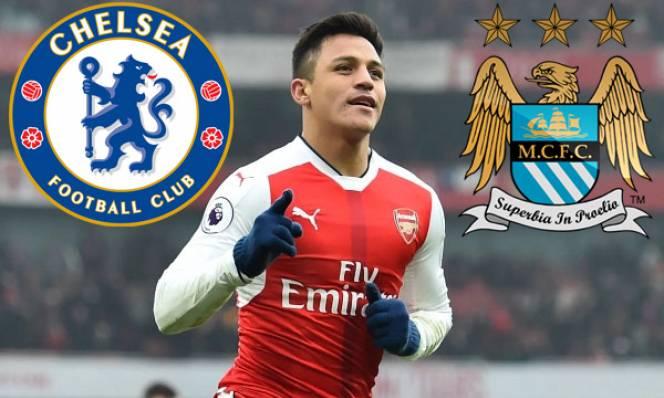 Sanchez hết cửa đến Chelsea, Man City