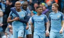 Hủy diệt Crystal Palace, Man City lọt vào top 3