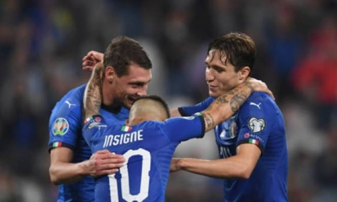 Vòng Loại Euro 2020: Hạ gục Bosnia, Italia độc chiếm ngôi đầu bảng J