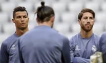 Căng thẳng leo thang giữa Ramos và Ronaldo