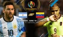 Trực tiếp Argentina 4-1 Venezuela: Vùi dập không thương tiếc