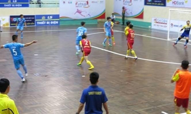 Giải Futsal HDBank 2017: Sanest Tourist Khánh Hòa gây bất ngờ lớn