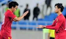 Đội hình ra sân của Việt Nam đấu Afghanistan: Văn Quyết sát cánh Công Phượng