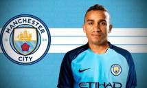 Danilo ký hợp đồng 5 năm với Man City