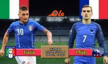 Italia vs Pháp, 02h00 ngày 02/09: Gà trống thị uy