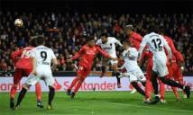 Real thua trận đầu tiên từ khi Zidane tái xuất