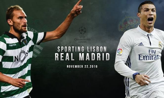 Sporting Lisbon vs Real Madrid, 02h45 ngày 23/11: Khẳng định vị thế