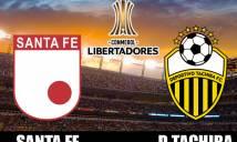 Nhận định Santa Fe vs Deportivo Tachira 07h00, 09/02 (Lượt về Vòng sơ loại thứ 2 - Copa Libertadores)
