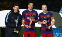 Vượt Xavi, Iniesta trở thành ông vua danh hiệu tại Tây Ban Nha