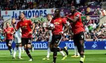 Swansea 0-4 Man United: Ngây ngất bộ tứ huyền ảo