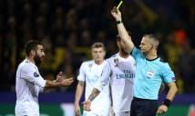 Cố ý tẩy thẻ, hậu vệ Real Madrid đối diện án phạt nặng