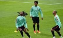 CHÙM ẢNH: Bồ Đào Nha gấp rút tập luyện cho trận đấu với Wales