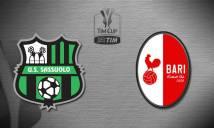 Nhận định Biến động tỷ lệ bóng đá hôm nay 29/11: Sassuolo vs Bari