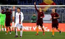Dzeko giúp Roma cân bằng kỷ lục tồn tại 86 năm