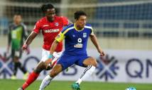 Than Quảng Ninh tự bắn vào chân mình tại AFC Cup 2017
