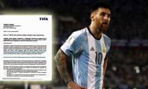 NÓNG: Thóa mạ trọng tài, Messi nhận án treo giò 4 trận từ FIFA