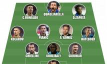 ĐH xuất sắc nhất Serie A 2018/19: Ronaldo rực sáng trên hàng công