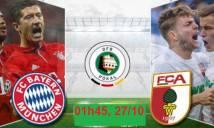 Bayern Munich vs Augsburg, 01h45 ngày 27/10: Nhẹ nhàng đi tiếp