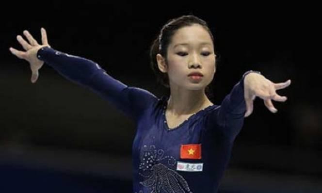 Hà Thanh giành huy chương bạc nhảy chống thế giới