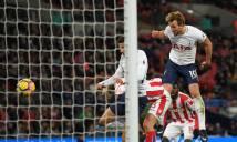 Thắng 5 sao trước Stoke City, Tottenham tiếp tục đua Top 4