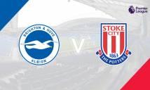 Nhận định Brighton & Hove Albion vs Stoke City 03h00, 21/11 (Vòng 12 - Ngoại hạng Anh)