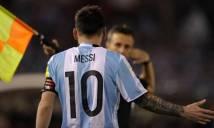 FIFA sai lầm vì Messi chỉ chửi không khí