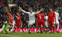'Vua Sư tử' giúp Swansea quắp 3 điểm rời Anfield