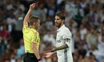 Ramos vẫn bị đuổi trong trận El Clasico dù đã...tặng quà trọng tài