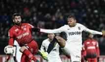 Bị cầm hòa đáng tiếc, Monaco vẫn vươn lên ngôi đầu Ligue 1