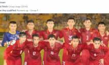 AFC đề cao Việt Nam tại VCK U23 châu Á 2018