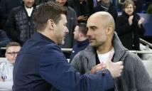Pochettino thừa nhận chỉ có may mắn mới đánh bại được Pep Guardiola