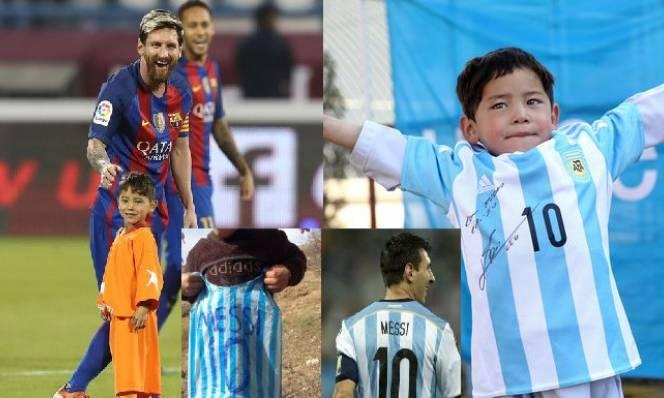 Kết cục bi thảm của gia đình cậu bé được Messi tặng áo