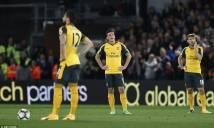 Hàng thủ yếu kém, Arsenal thua sốc trước Crystal Palace