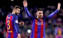 Trung vệ Barca bức xúc khi Messi bị FIFA treo giò 4 trận