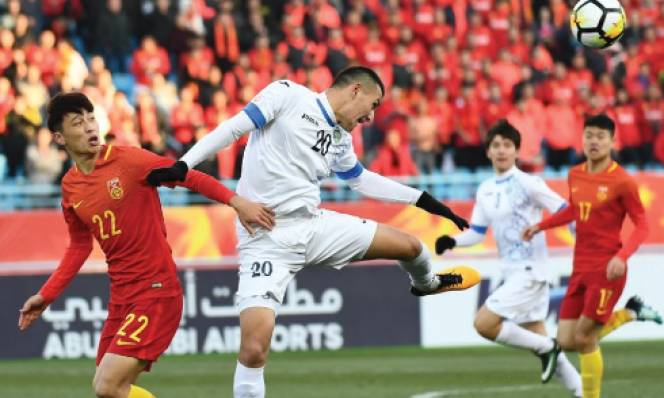 Kết quả U23 Trung Quốc 0-1 U23 Uzbekistan: Chủ nhà bất lực nhận thất bại