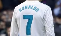 NÓNG: Chiếc áo số 7 của Ronaldo ở Real đã có người kế vị