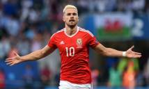 Aaron Ramsey đạt cột mốc đáng nhớ ngày Xứ Wales giành chiến thắng ở VL World Cup