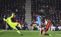 Sterling rực sáng, kéo Man City lên ngôi nhì bảng