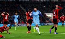 Nhận định bóng đá Bournemouth vs Man City, 18h30 ngày 26/8 (Vòng 3 Ngoại hạng Anh 2017/18)