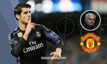 Hé lộ lí do Morata quyết rời Real, sang M.U với Mourinho