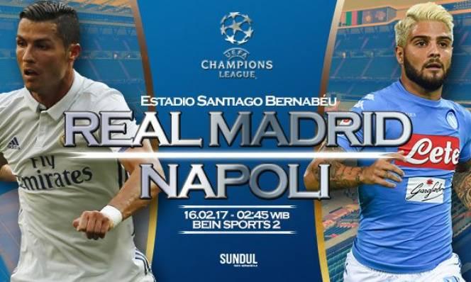 Real Madrid vs Napoli, 02h45 ngày 16/02: Lời khẳng định của nhà Vua