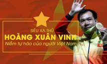 Hoàng Xuân Vinh vô đối trong cuộc bình chọn VĐV tiêu biểu 2016
