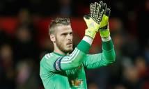 Vì sao De Gea bỗng dưng vắng mặt ở trận đấu gặp Sunderland?