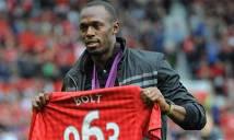 Usain Bolt chơi bóng chuyên nghiệp và giấc mơ khoác áo MU